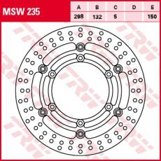 Bremsscheibe MSW235