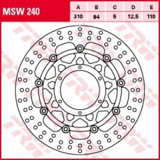 Bremsscheibe MSW240