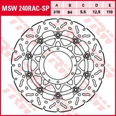 Bremsscheibe MSW240RAC-SP