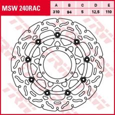 Bremsscheibe MSW240RAC