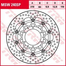 Bremsscheibe MSW240SP
