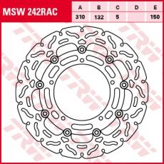 Bremsscheibe MSW242RAC