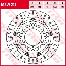 Bremsscheibe MSW244