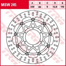 Bremsscheibe MSW245