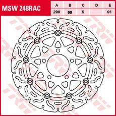 Bremsscheibe MSW248RAC