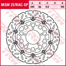 Bremsscheibe MSW257RAC-SP