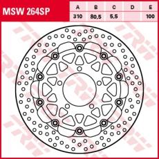 Bremsscheibe MSW264SP