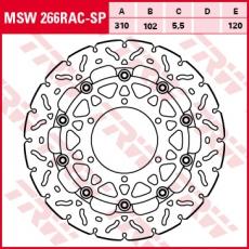 Bremsscheibe MSW266RAC-SP