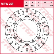 Bremsscheibe MSW268