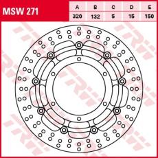 Bremsscheibe MSW271