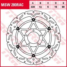 Bremsscheibe MSW280RAC