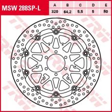 Bremsscheibe MSW288SP-L