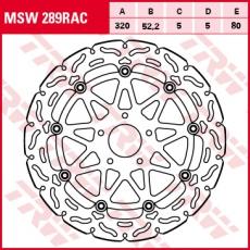 Bremsscheibe MSW289RAC