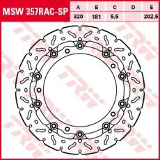 Bremsscheibe MSW357RAC-SP