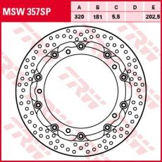 Bremsscheibe MSW357SP