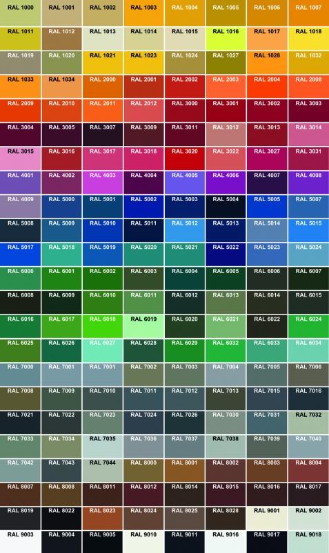 RAL-Farbe 135-0100-M