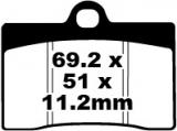 Bremsbeläge EPFA095HH