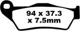 Bremsbeläge EPFA181HH