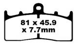 Bremsbeläge EPFA294HH