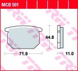 Bremsbelag MCB501