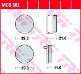 Bremsbelag MCB502