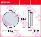 Bremsbelag MCB505