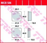 Bremsbelag MCB506