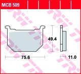 Bremsbelag MCB509