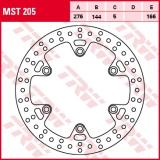 Bremsscheibe MST205