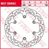 Bremsscheibe MST206RAC