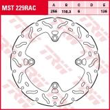 Bremsscheibe MST229RAC